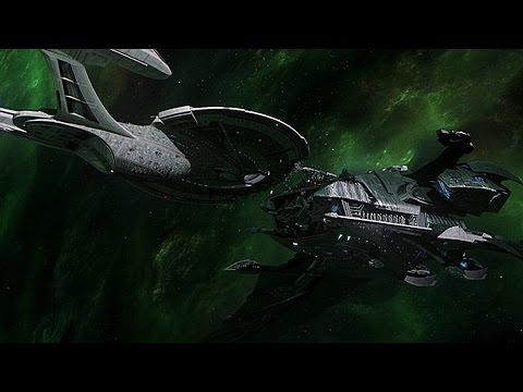 Uss Enterprise E Vs The Scimitar Star Trek Bridge Commander