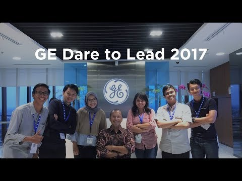 My Story in GE Indonesia Dare to Lead 2017