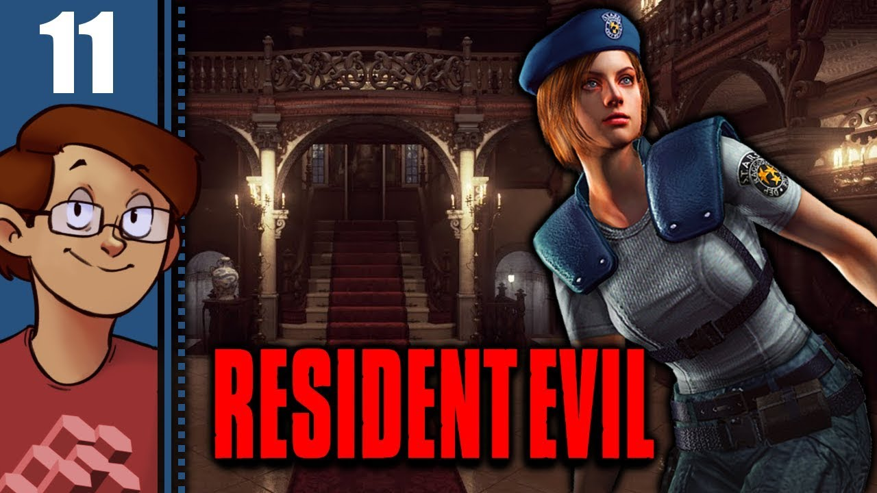 Let's Play Resident Evil HD Remaster: Jill Valentine Part 11 - Trevor's Diary