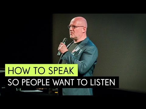 Julian Treasure: How to Speak so That People Want to Listen, TDCMCR 2015 - YouTube