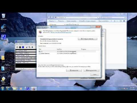 How to defrag a hard drive in Windows 7