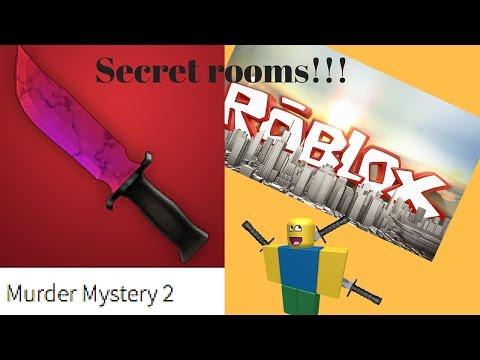 Secret rooms in Murder Mystery 2!!! 6 secret places