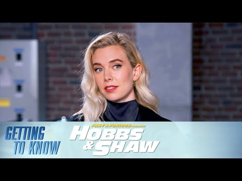 How Fast Has Vanessa Kirby Driven a Car? | Getting to Know the Cast and Crew of Hobbs & Shaw