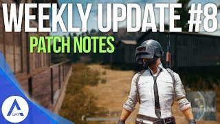 PUBG Xbox: Weekly Update #8 Patch Notes - Cars, Vaulting, Other Bug Fixes & More!
