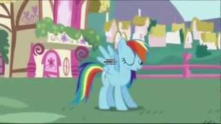 Rainbow Dash is not wearing Underwear Today