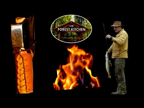 Axe, Deer and Fish | OFF GRID Log Cabin Life | Venison Heart Stew