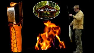 Axe, Deer and Fish   OFF GRID Log Cabin Life   Venison Heart Stew