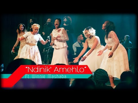 Women In Praise feat. Winnie Mashaba - Ndinik' Amehlo