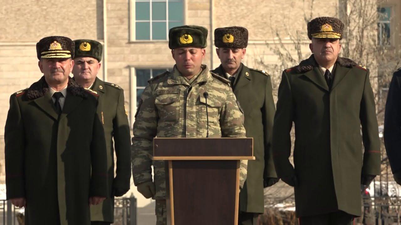 Naxçıvanda Əlahiddə Ümumqoşun Ordunun döyüş atışlı taktiki təlimindən videofilm 2