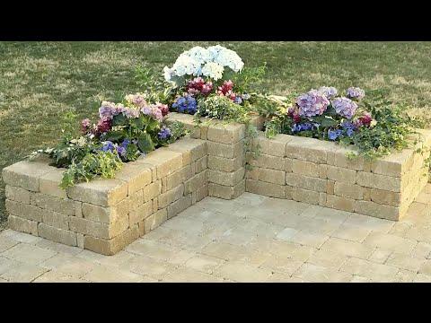 C mo hacer una jardinera de rumblestone youtube Construir una pileta de ladrillos