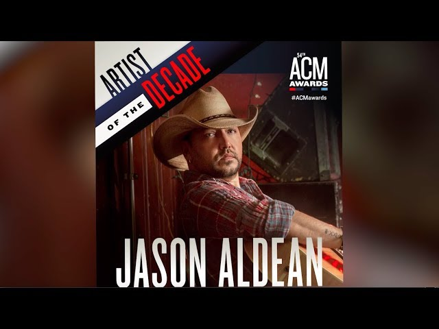 Academy of Country Music: Jason Aldean Named Artist of the Decade