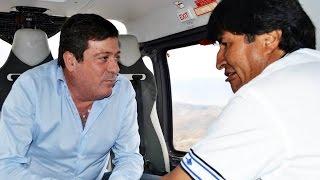 Mariotto en Bolivia junto a Evo Morales a días de las elecciones