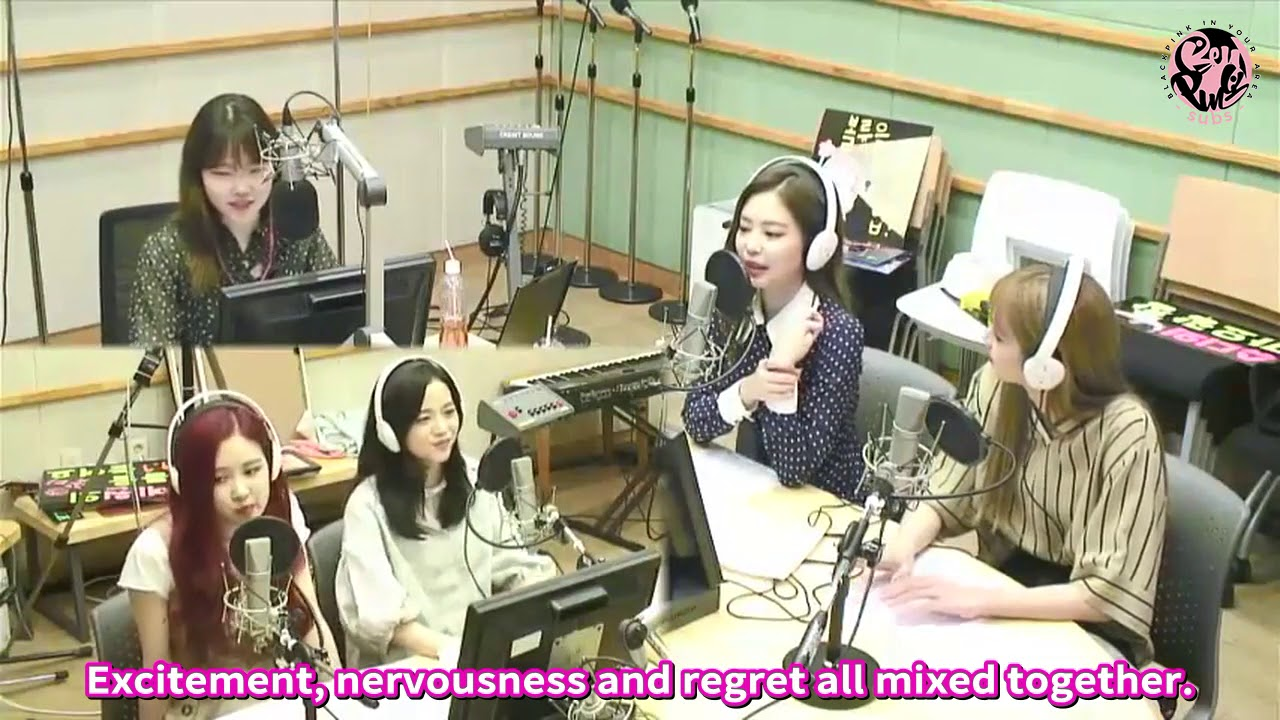 ENGSUB 180618 BLACKPINK at KBS COOL FM AKMU SUHYUN'S VOLUME UP