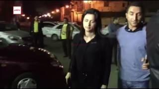 توافد الفنانين علي عزاء والدة المخرج شريف عرفة