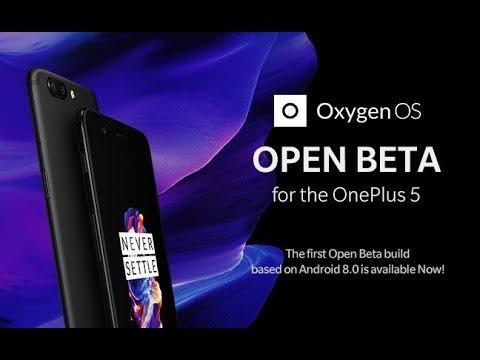 OnePlus 5 | OxygenOS Open Beta 1 | Android Oreo 8.0 - What