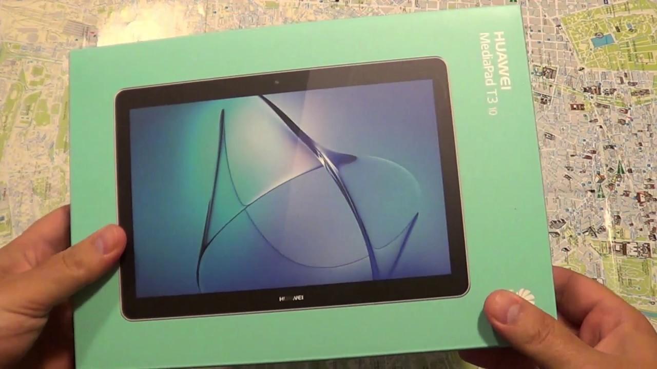 Huawei Mediapad T3 10 English Review Youtube
