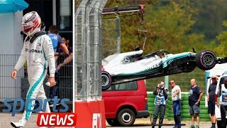 Lewis Hamilton refuses blame after Mercedes German GP qualifying disaster