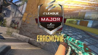 CS:GO - ELEAGUE BOSTON MAJOR 2018 FRAGMOVIE (Best Plays/Clutches/Highlights)