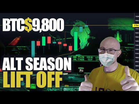 BTC Setting Up for Weekend Breakout? Altcoin Season Has Begun! Market Live Watch & Analysis!