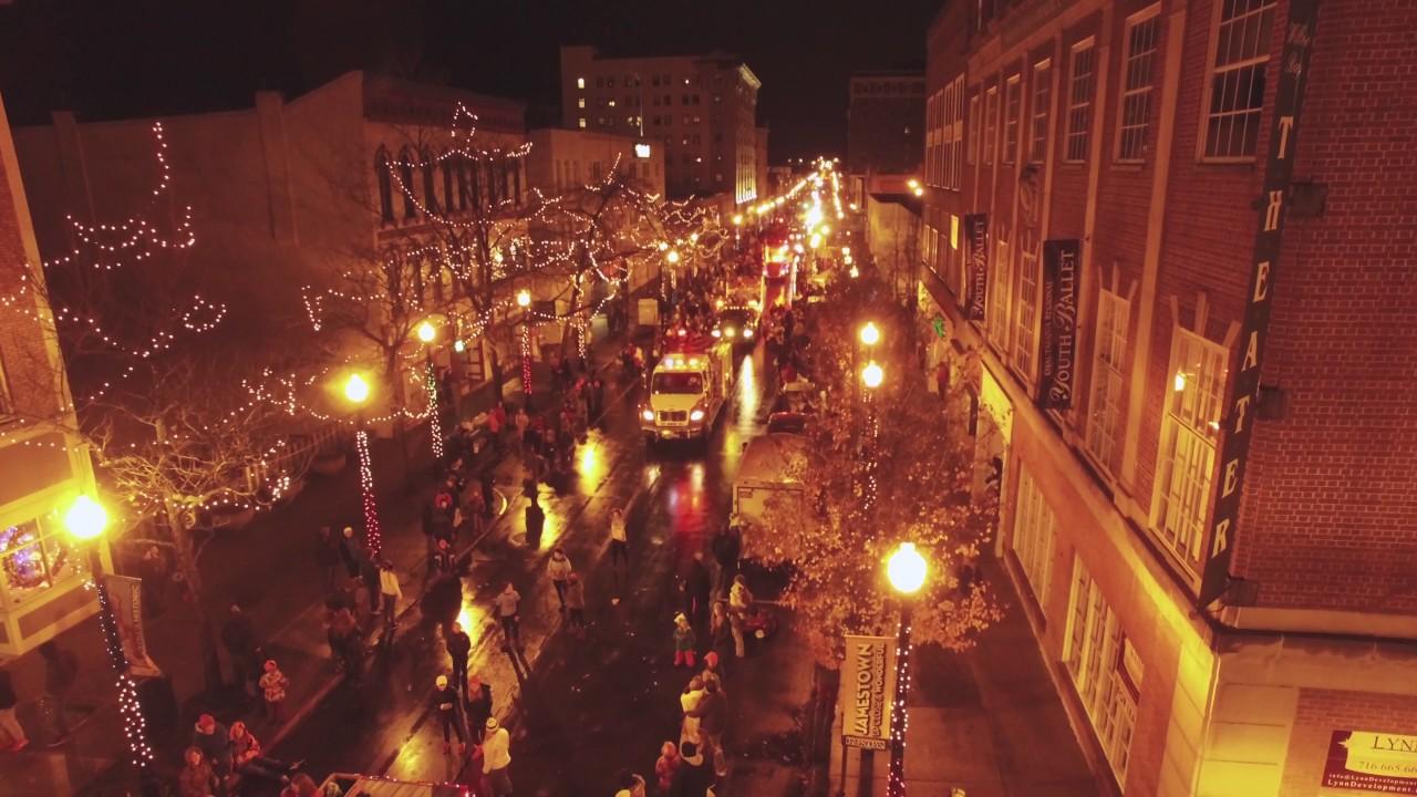 Jamestown Ny Christmas Parade 2020 Downtown Jamestown Holiday Parade 2016   YouTube