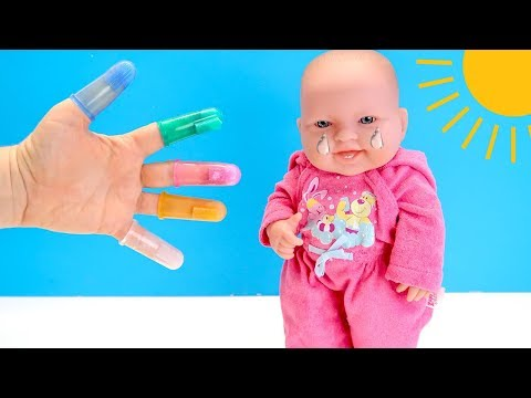 Больно Чистить Молочные Зубки, Что Придумала Мама? Куклы Пупсики Игрушки Для детей 108мама тиви