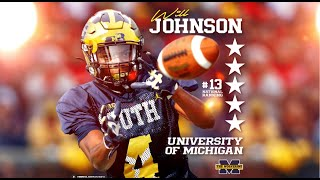 HUGE LAND: 5-Star DB Will Johnson Commits To Michigan Wolverines!!!