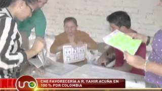 CNE favorecería a Yahir Acuña con su partido Cien por ciento por Colombia