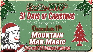 Opening Packs Searching for MTG Masterpieces - 2019 Exotic MTG 31 Days of Christmas Giveaway!
