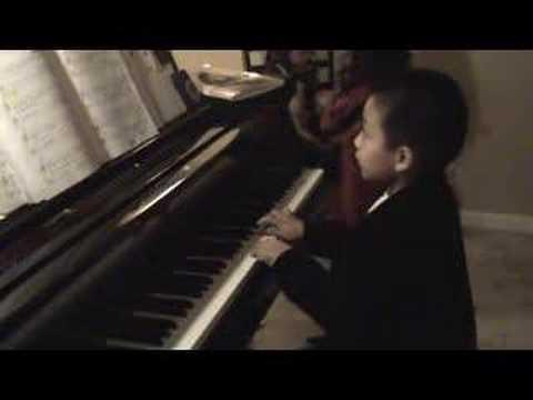 Brandon Recital Practice