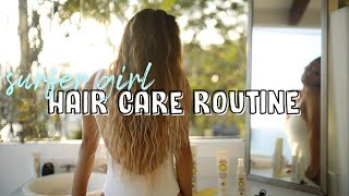 Surfer Girl Haircare Routine