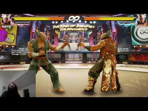Tekken 7 Info for Nerds - Heihachi's Ki Charge: Secret Just Frame Stance & Followups