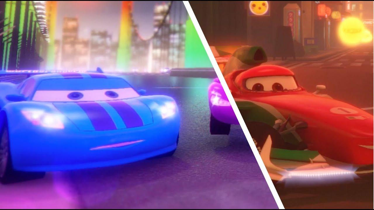 Lightning McQueen vs Francesco Bernoulli's | Pixar Cars - Xbox S