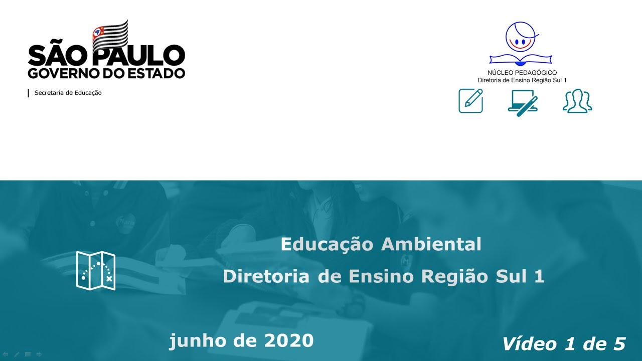 Educação Ambiental e pesquisa nas escolas da DER-S1 [VÍDEO - 1/5]