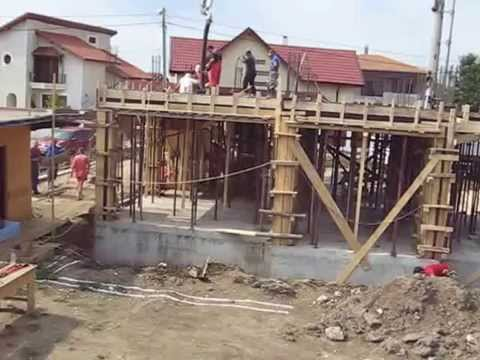 How to create the 2nd floor layout and concrete slab for How to build a 2nd story floor