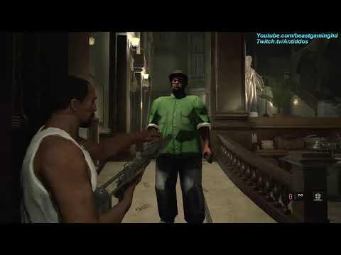 Resident Evil 2 Remake - GTA CJ Meets Big Smoke (MOD) *read desc*