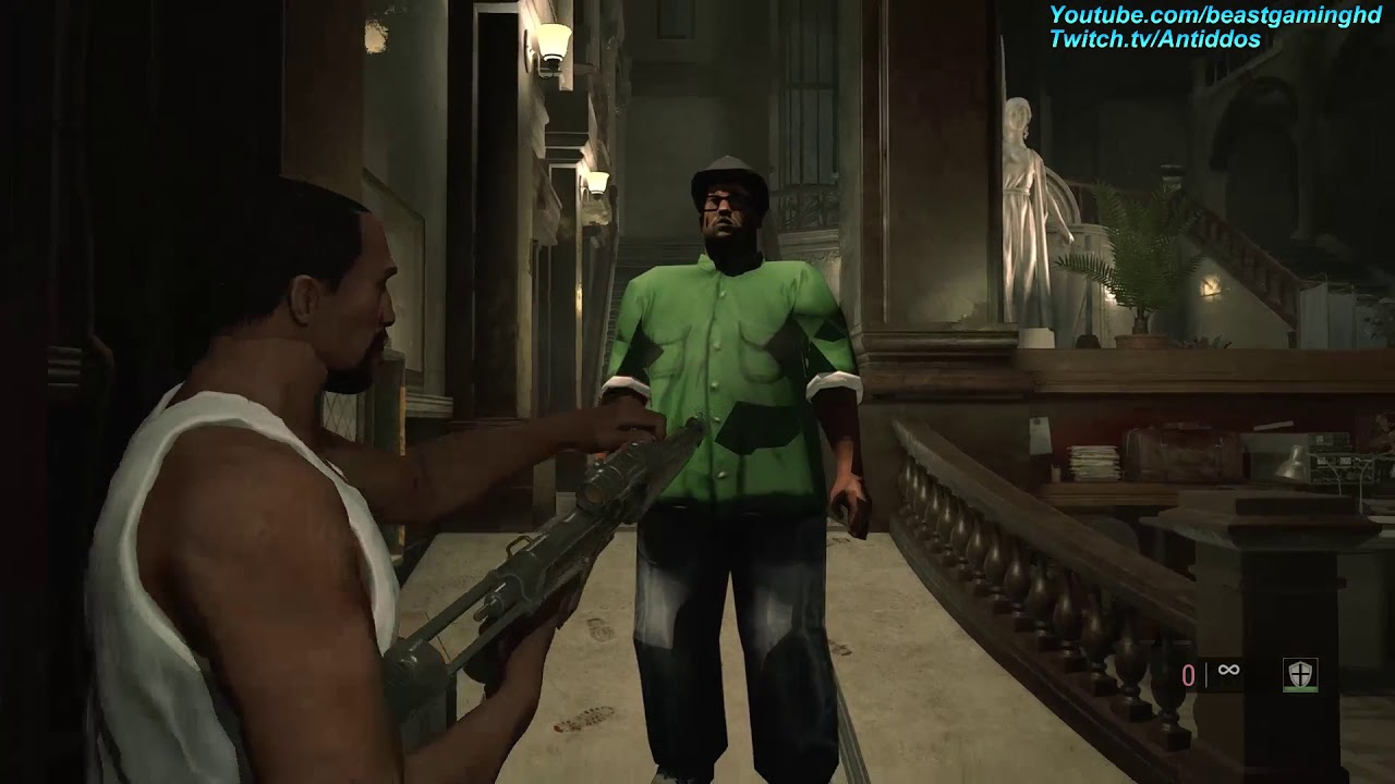 A New Mod Adds CJ And Big Smoke From GTA: San Andreas Into