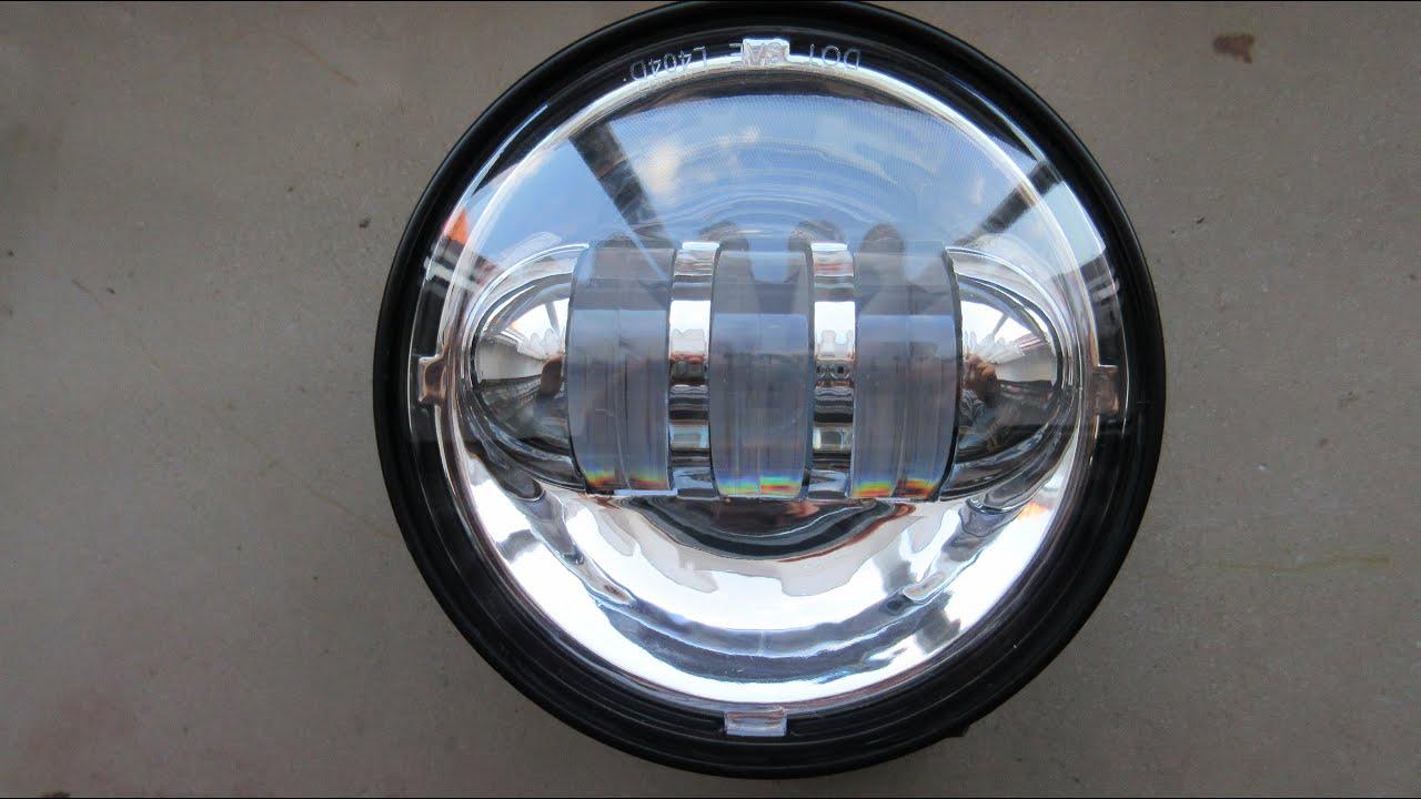 LED Motorrad LED 4,5 Zoll Zusatzscheinwerfer Nebelscheinwerfer ...