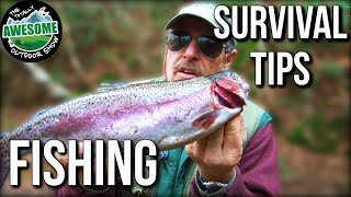 Survival Tips - How to Kill, Fillet and Cook Fish | TAFishing