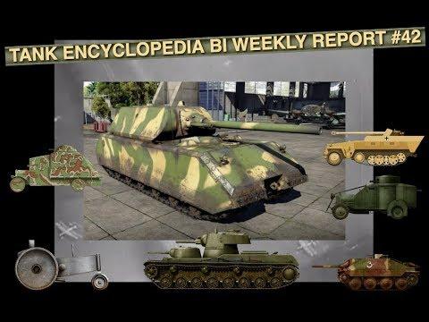 Tank Encyclopedia Bi Weekly Report #42