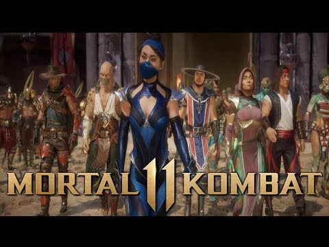 Mortal Kombat 11 - Story Mode Playthrough - Chapter 7 - Kitana (Commentary)