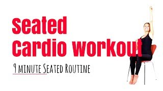 Seated Cardio Workout - suitable for anyone recovering from an injury, illness or wheelchair bound