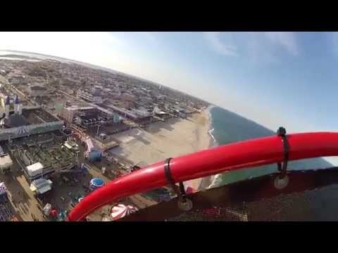 Seaside Heights, NJ Mothers Day 2014 Tallest Ride On Casino Pier GoPro View