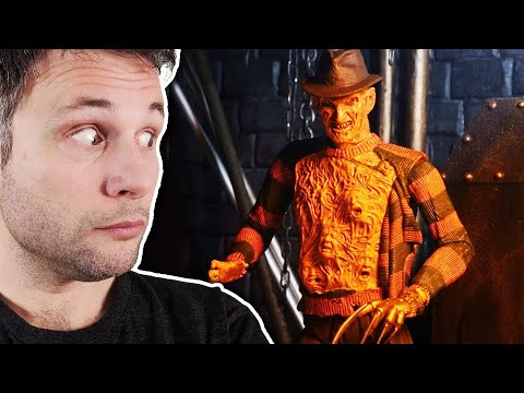 unboxing-do-freddy-krueger-da-hora-do-pesadelo---action-figure-de-terror-da-neca-toys