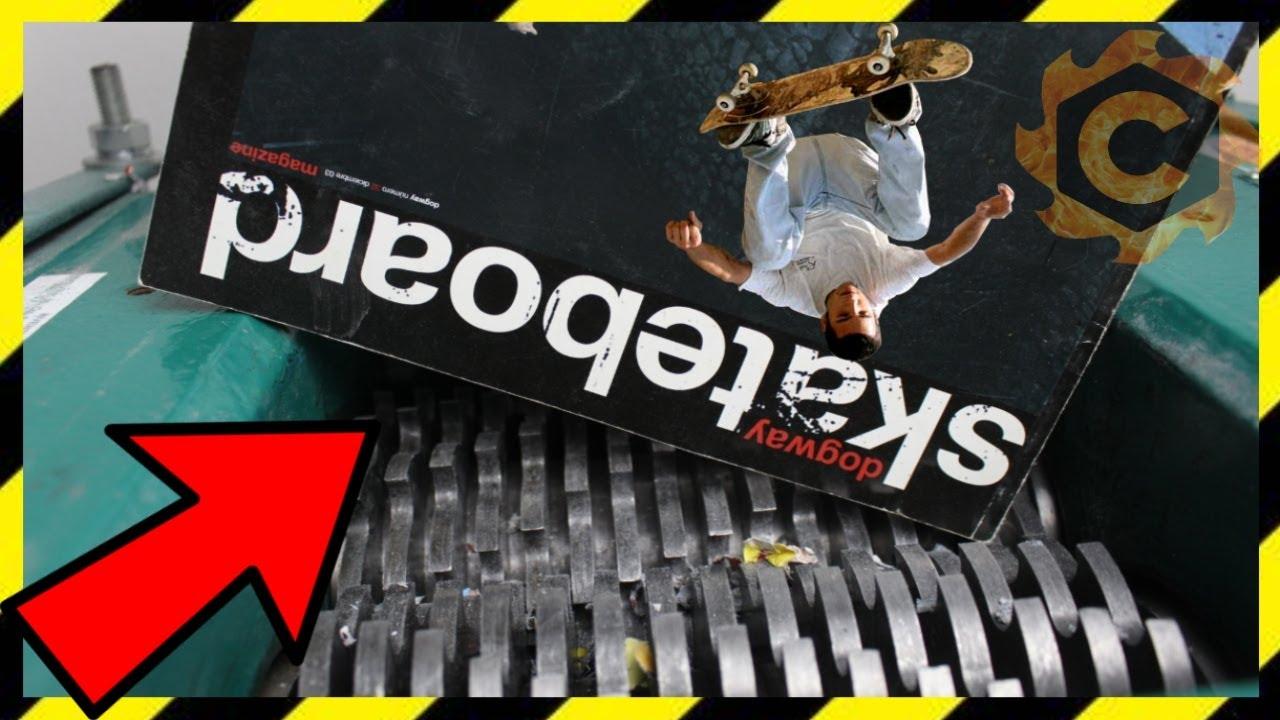TRITURANDO REVISTAS DE SKATE   fast shredding skateboarding magazines 2020