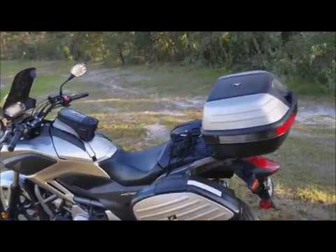 New motorcycle Honda NC700X