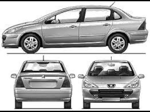 test peugeot 307 xs 1 6 vs xt premium 2 0 2006 auto al d a youtube. Black Bedroom Furniture Sets. Home Design Ideas