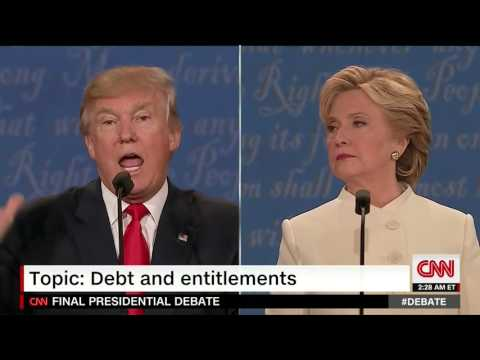 Question on Social Security and Medicare at Third Presidential Debate