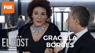 ¡Graciela Borges (Bossi)visita el Hotel A! en El Host
