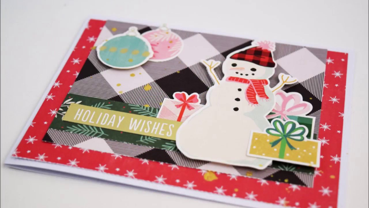 Latest greatest card making christmas cards by becki adams youtube latest greatest card making christmas cards by becki adams m4hsunfo