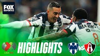 Rayados 2-0 Atlas | HIGHLIGHTS | Jornada 19 | Liga MX
